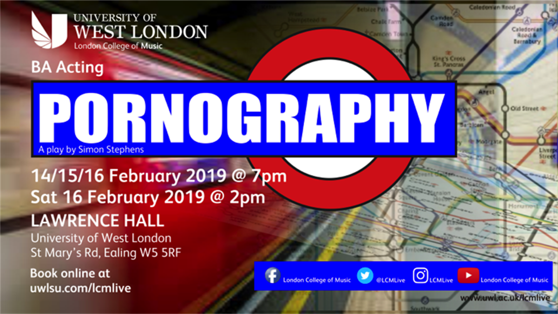 Pornography - 16th February - 2pm
