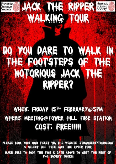 Jack the Ripper Tour- FREE